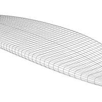 Allround-SUP - Wireframe-Ansicht