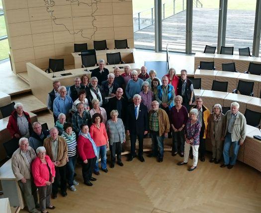 Landtagsbesuch aus dem Wahlkreis zur Kieler Woche