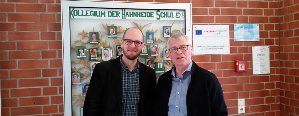 Tobias von Pein und Hartmut Hentschel