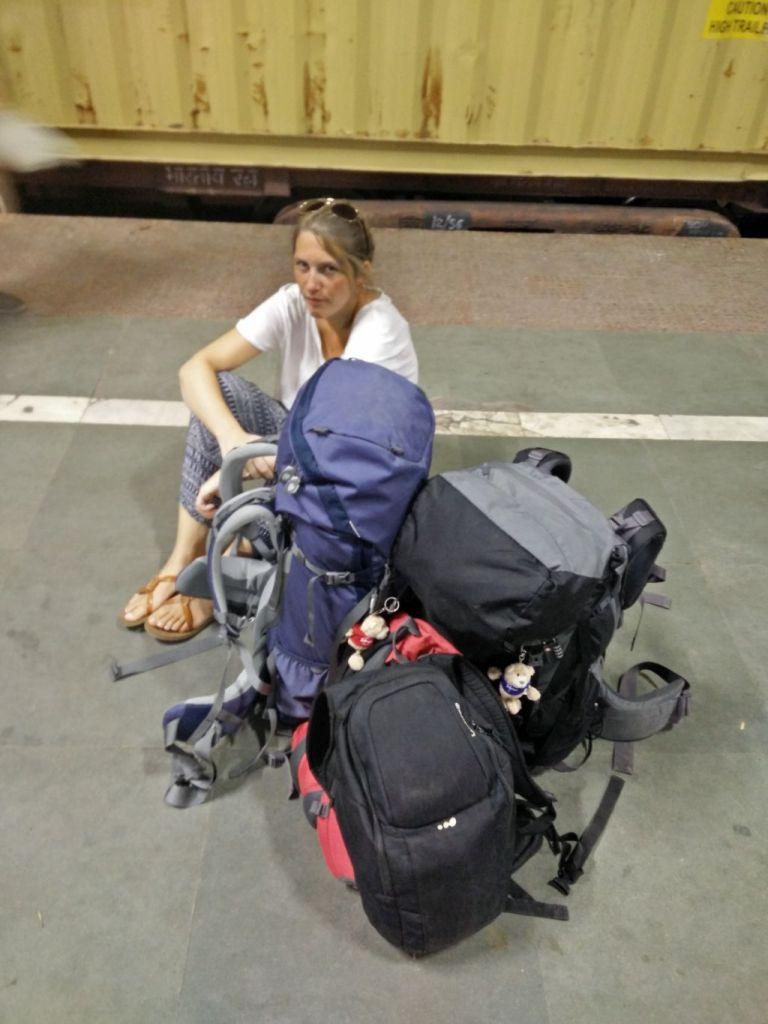 Warten auf Züge