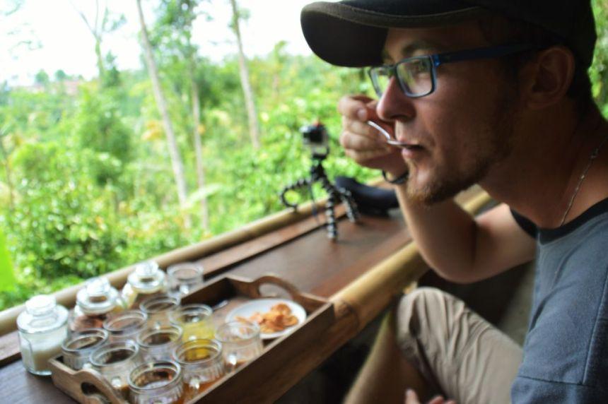Kaffeeplantage - Kaffeetasting
