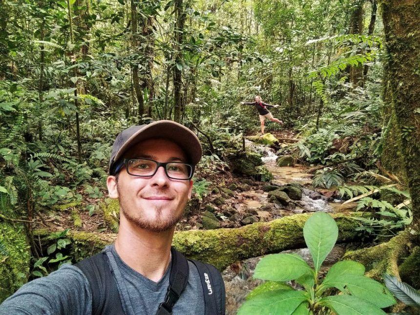 Trekken im Dschungel