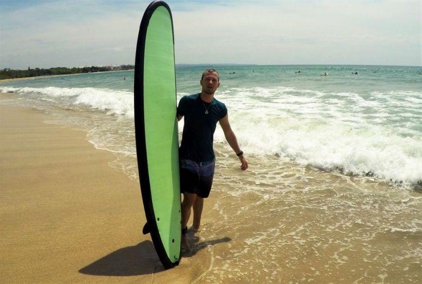 Surfen in Kuta