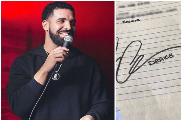 Drake's old rhyme book for sale at N11 million lailasnews