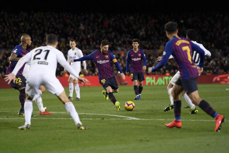 Image result for Barcelona 2 - 2 Valencia (La Liga) 2018/19