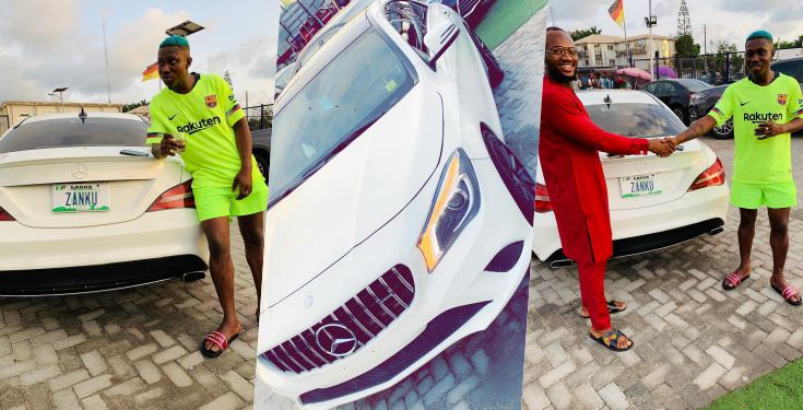 Zlatan Ibile Buys Brand New 35 Million Mercedez Benz Car