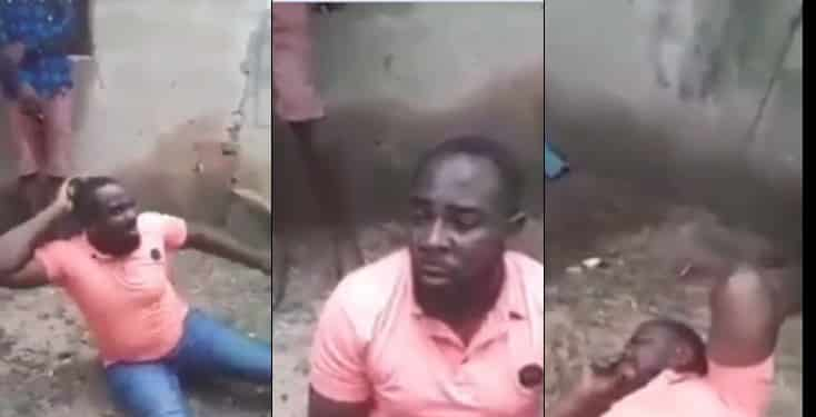 Man Caught Trying To Sleep With His Brother's Wife Gets Flogged