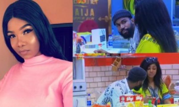 Image result for 'Keep your stupid cheering up to yourself' – Tacha attacks Mike (video)
