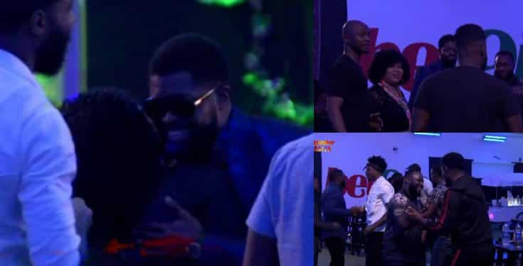 BBNaija: Basketmouth, Ushbebe, Chigul and others visit housemates (video)