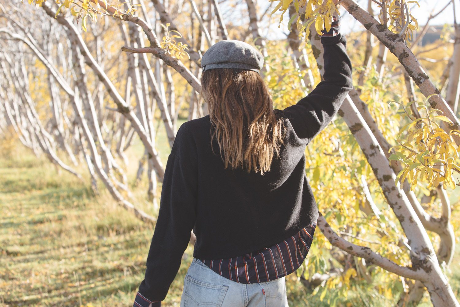 How to layer for Fall with Kiara of TobruckAve