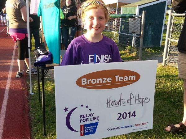 HEARTS OF HOPE - Bronze Team Award