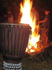 Fire and Drum