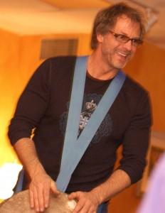 Healing Drummer Toby Christensen