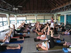 Yoga and Drumming Workshop in Kauai