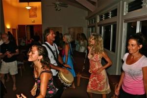 Feeling Energy from Drumming