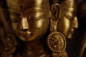 Bronze Tibetan Figures