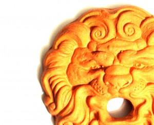 Stone Lion Face