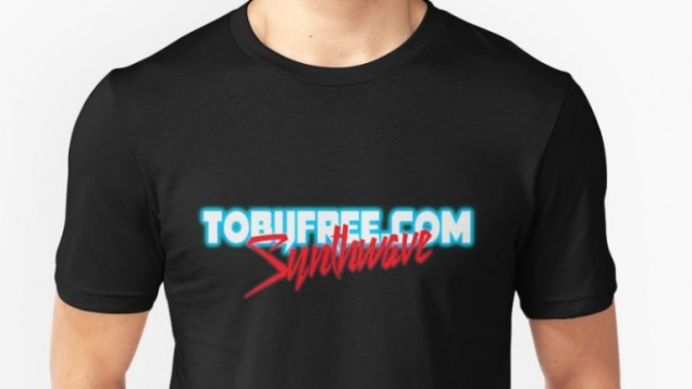 New Synthwave Logo Unisex Tee Shirt