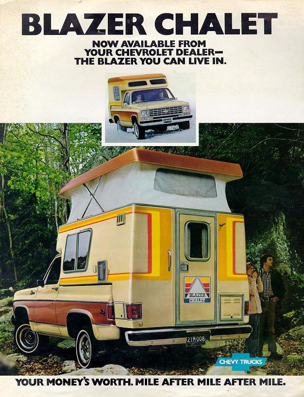 Chevy Blazer Camper