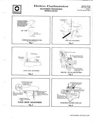 Rochester 2Jet Carburetor Manual  The Old Car Manual Project