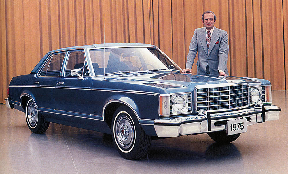 Lee Iacocca and the 1975 Ford Granada