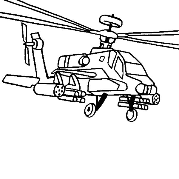 helicopter coloring pages ah 64 apache helicopter coloring pages