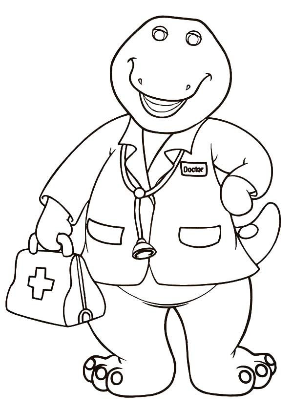 doctor barney coloring pages doctor barney coloring pages best