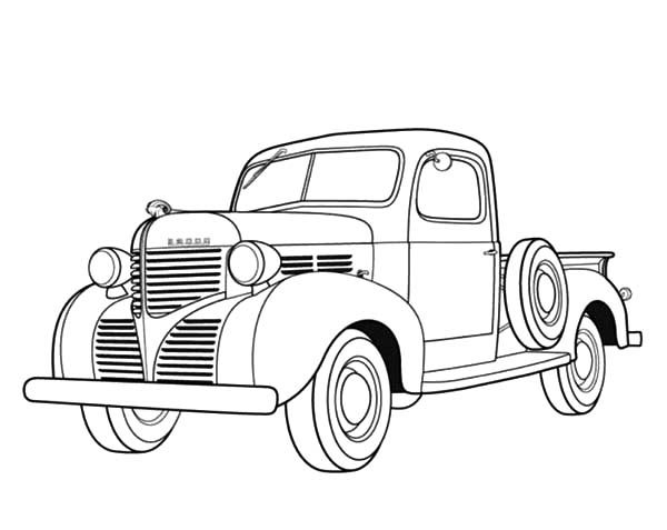 fabulous coloring pages of dodge trucks dodge ram dully truck colouring with car color page