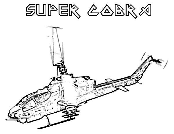 helicopter super cobra apache helicopter coloring pages 600x464 jpg