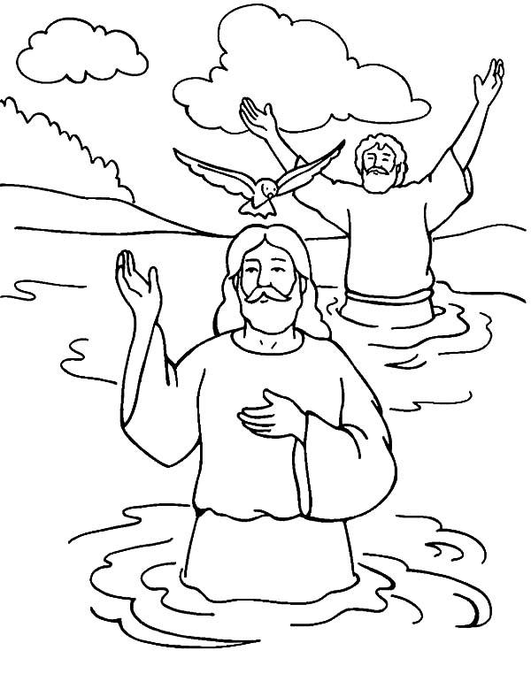in baptism of jesus welcoming