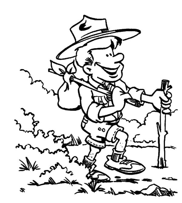 boy scouts adventure coloring pages best place to color