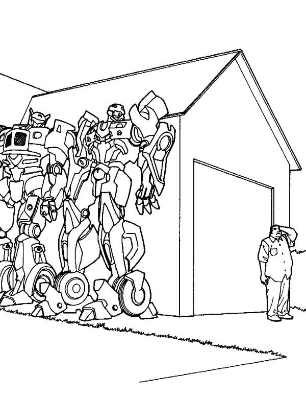 bumblebee car bumblebee car hiding coloring pages