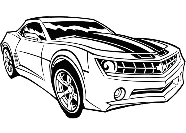 coloring pages bumblebee car transformer coloring pages