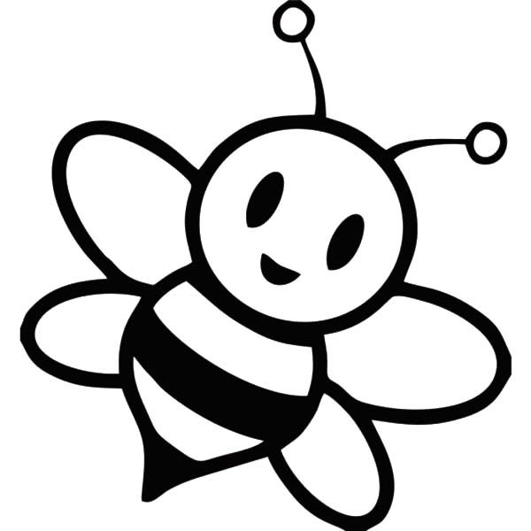 bumble bee chibi bumble bee coloring pages