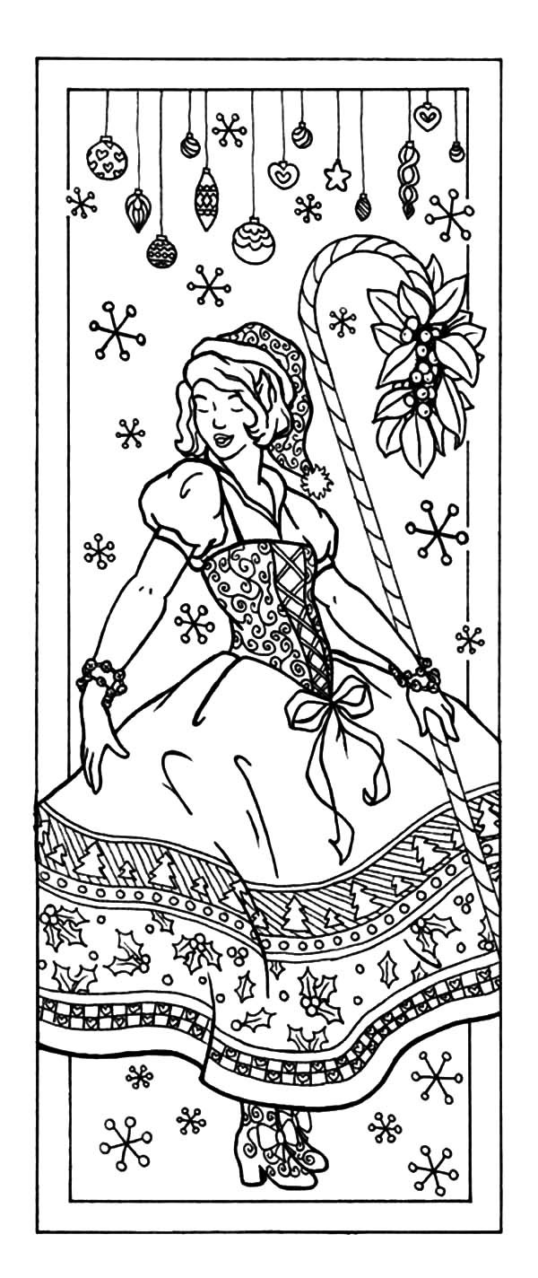 christmas bookmarks coloring pages  best place to color