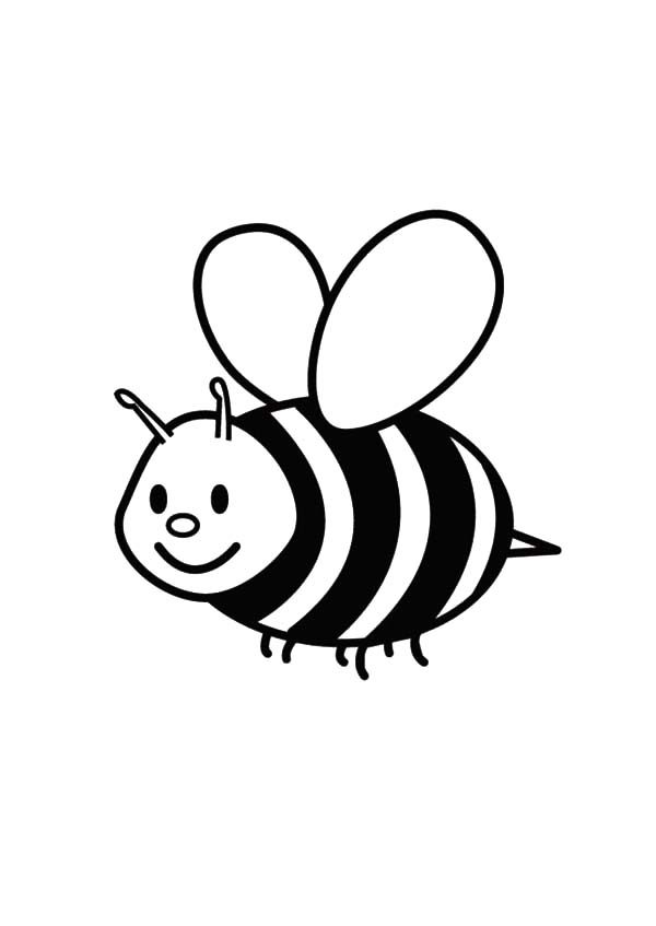 bumble bee flying bumble bee coloring pages