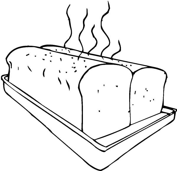 fresh bread on baking sheet coloring pages  best place to