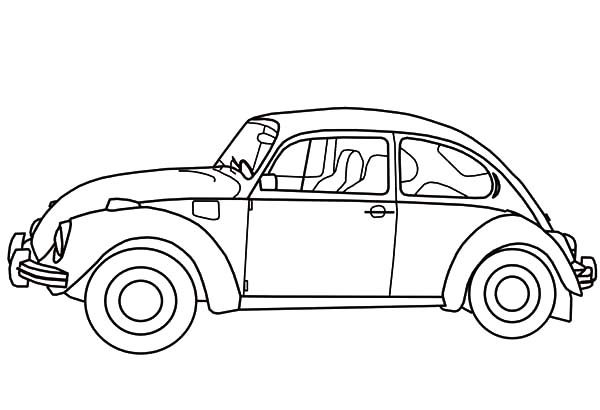 herbie beetle car coloring pages best place to color