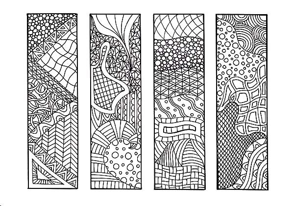 mandala bookmarks coloring pages best place to color