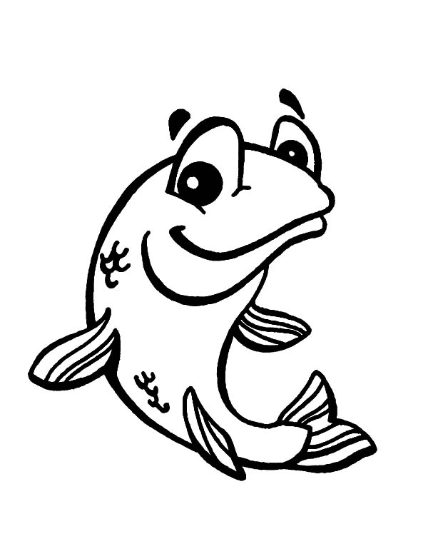 bass fish jumping coloring pages coloring pages