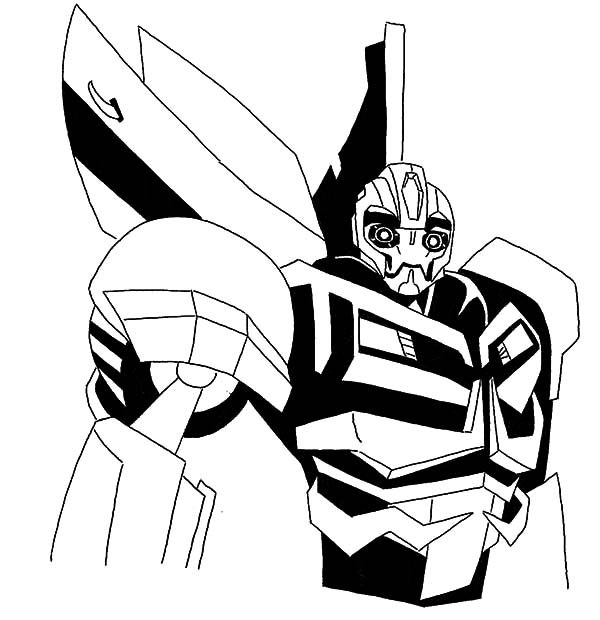 transformers bumblebee coloring page pictures to pin on pinterest