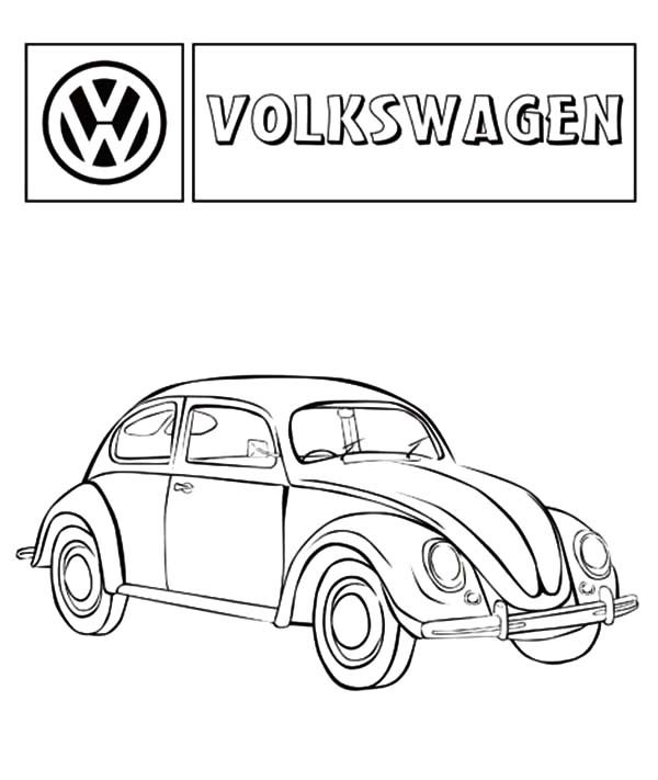 volkswagen beetle car coloring pages best place to color