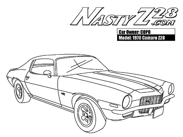 1970 camaro cars z28 coloring pages ford mustang coloring pages