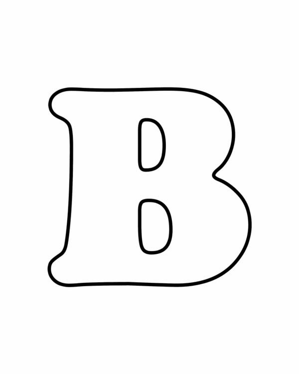 alphabet b is for bear on letter b coloring page alphabet b is