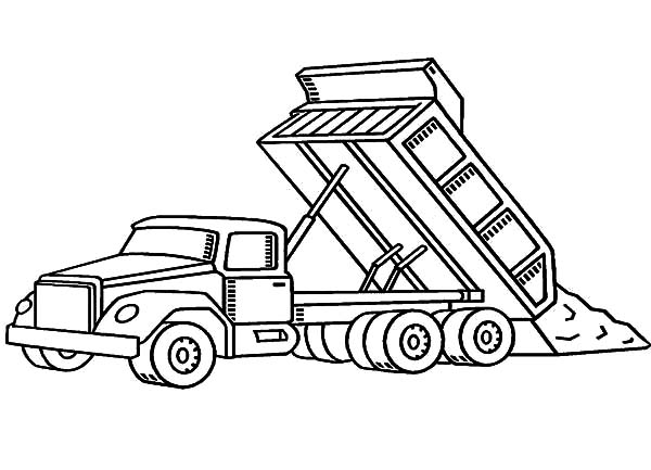 car transporter dump truck coloring pages best place to color