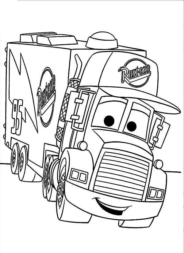 semi truck coloring pages gede dvrlists com