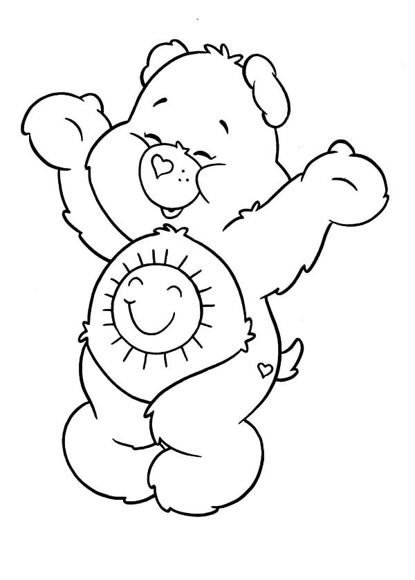 bears coloring colouring pages bear coloring pages care bears 4