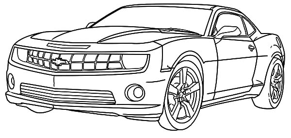 chevelle coloring pages - photo#34
