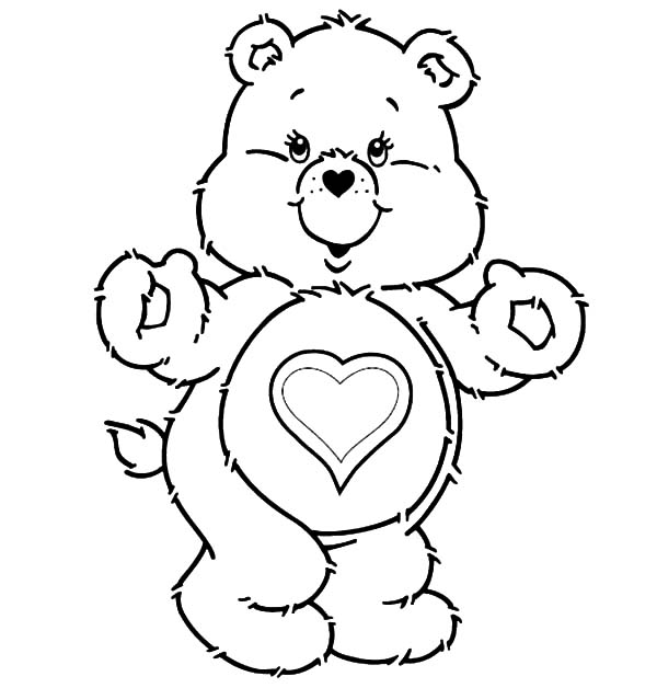 care bears funshine coloring books coloring pages