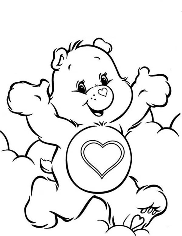 happy care bears coloring pages happy care bears coloring pages